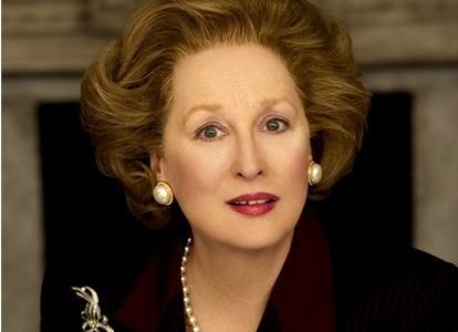 "Meryl Streep in ""The Iron Lady"""