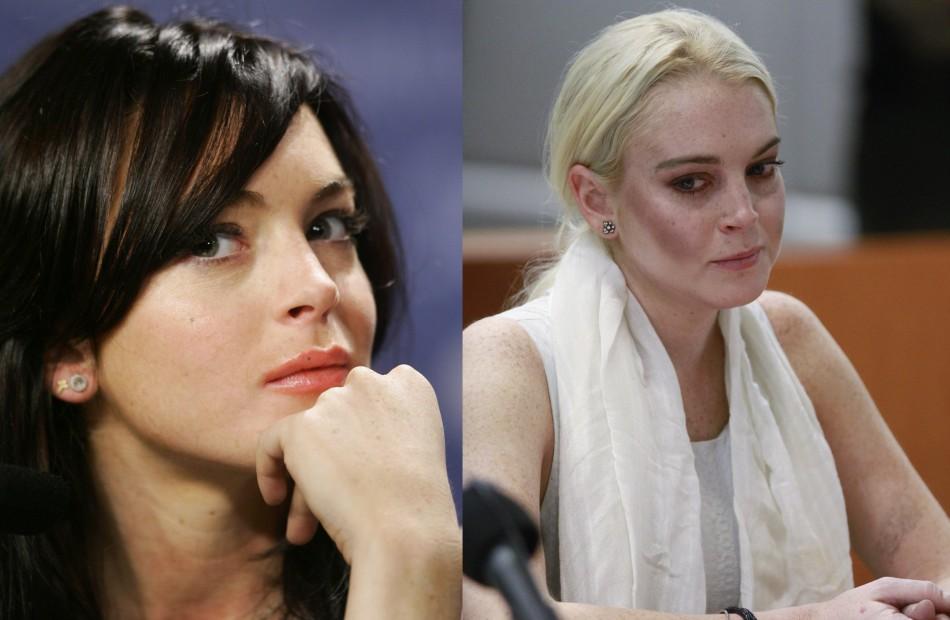 Lindsay Lohan - The Fresh-Faced Beautys Shocking Transformation