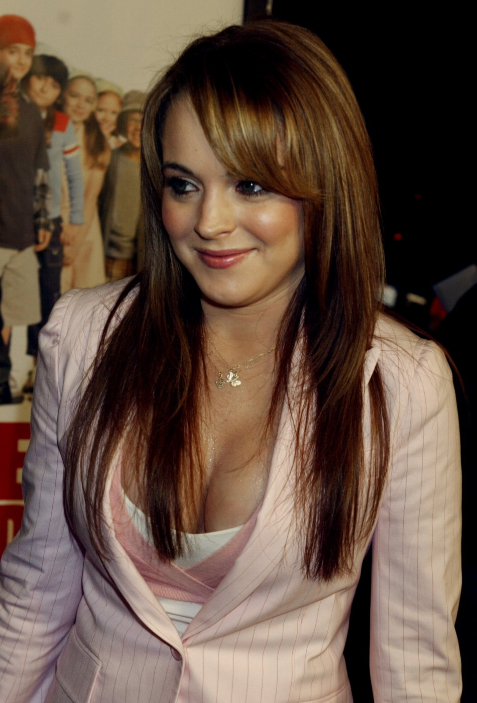 Lindsay Lohan in 2003 - Gorgeous With Auburn Locks