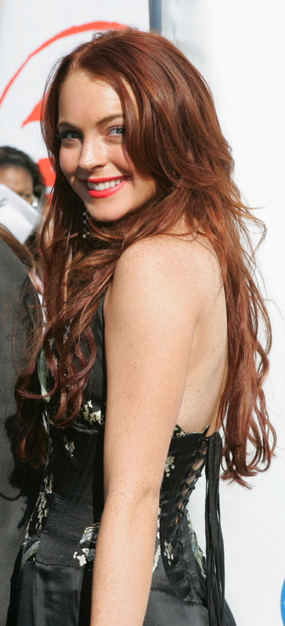 Lindsay Lohan in 2004 - The Beautiful Lady in Black