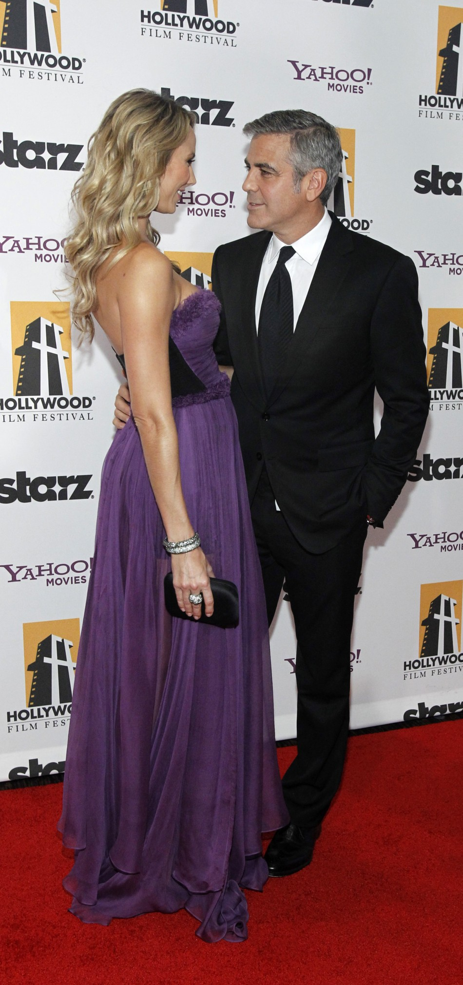 Clooney and Keibler