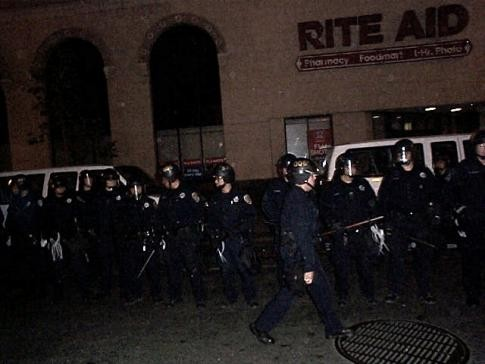 Occupy Wall Street: Riot Police Attack and Arrest Peacful Oakland Protesters