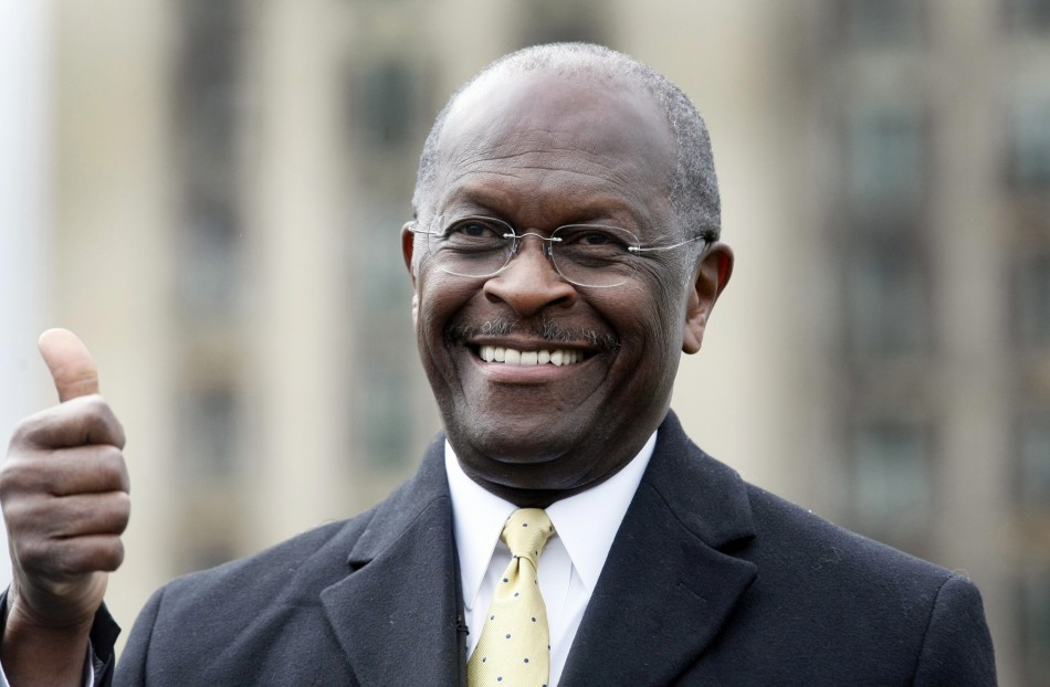"Herman Cain got high praise from ""J. Edgar"" director Clint Eastwood, who told the Los Angeles Times Monday that the presidential hopeful has qualities that set him apart from everyone else who's vying to be commander in chief."