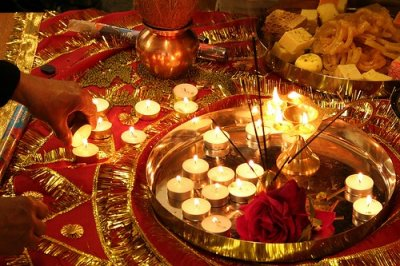 Candles for Diwali
