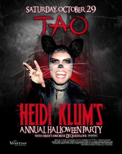 Heidi Klums Annual Halloween Party