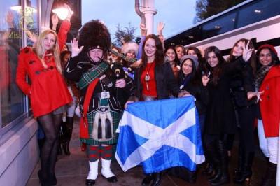 Miss World Contestants Dazzle London