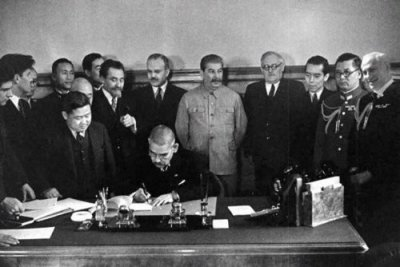 bibi with Stalin
