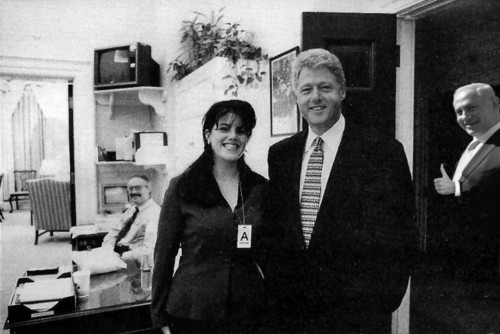 Bibi, Monica and Clinton