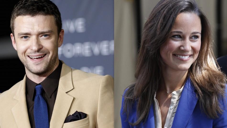 Timberlake reveals his crush on Pippa