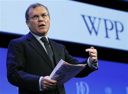 Chief Executive of WPP Group Martin Sorrell
