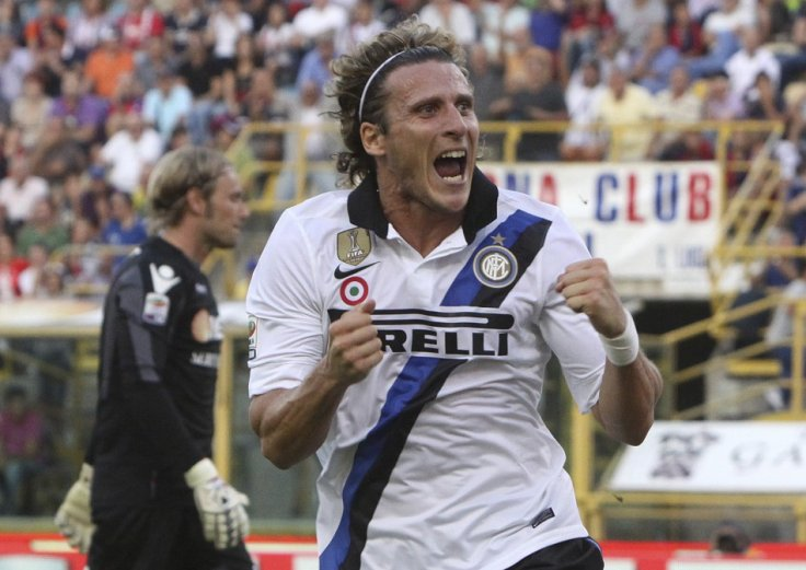 Reuters: Diego Forlan (Inter Milan and Uruguay)