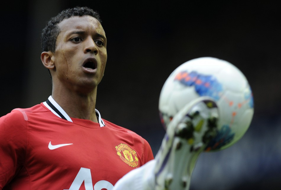 Reuters: Nani (Manchester United and Portugal)