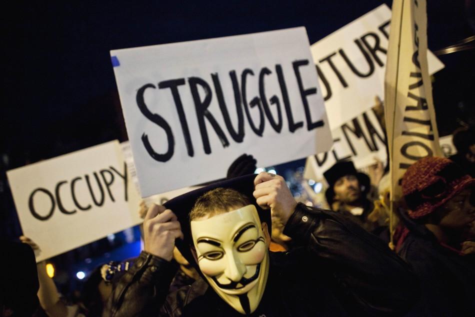 'Occupy Wall Street' ProtestorsGain Following in Iran