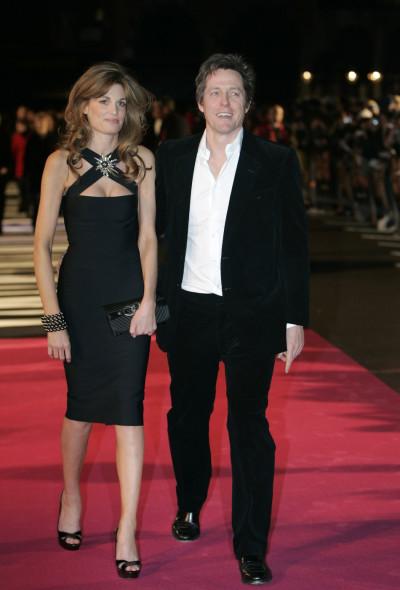 Hugh Grant and Jemima Khan