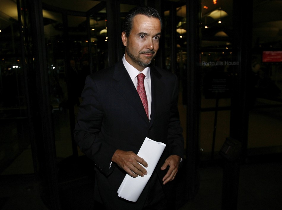 António Horta-Osório, the chief executive of the Lloyds Banking Group