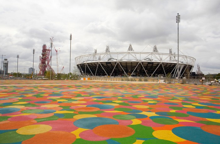 A striking new piece of architecture for the Olympic Park has been unveiled as the Olympic Delivery Authority ODA announced the completion of a key footbridge that spans over the River Lea, at a focal point between the Olympic Stadium and  the Aquatics