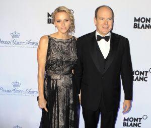 Monaco Royal Couple and Celeb Grace Princess Grace Awards Gala