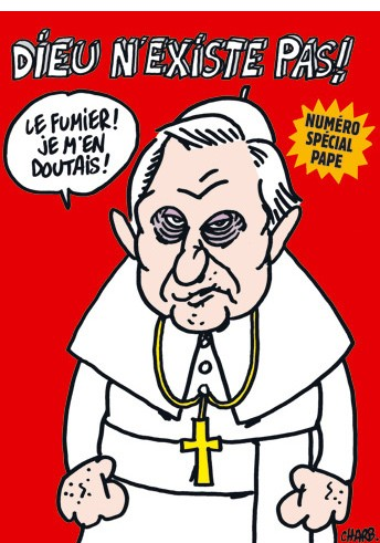 Charlie Hebdo Cover with the Pope