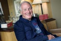 Hollywood producer Jerry Weintraub poses for a picture in New York