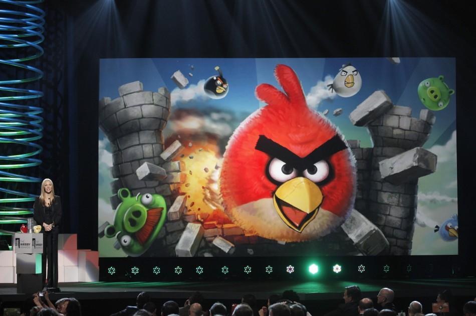 Mobile game Angry Birds