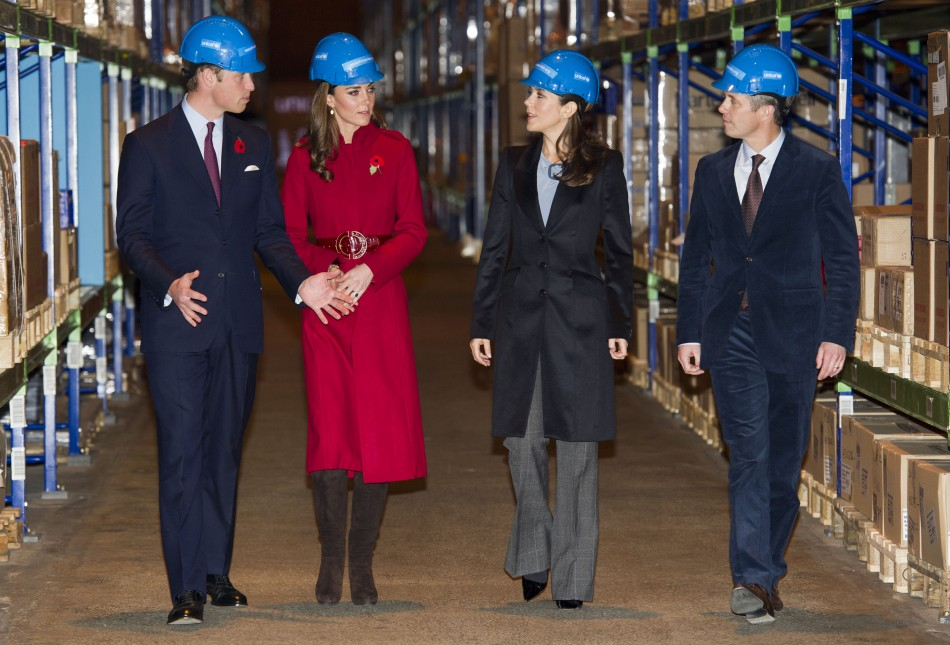 Prince William and Kate Middleton's Copenhagen Visit