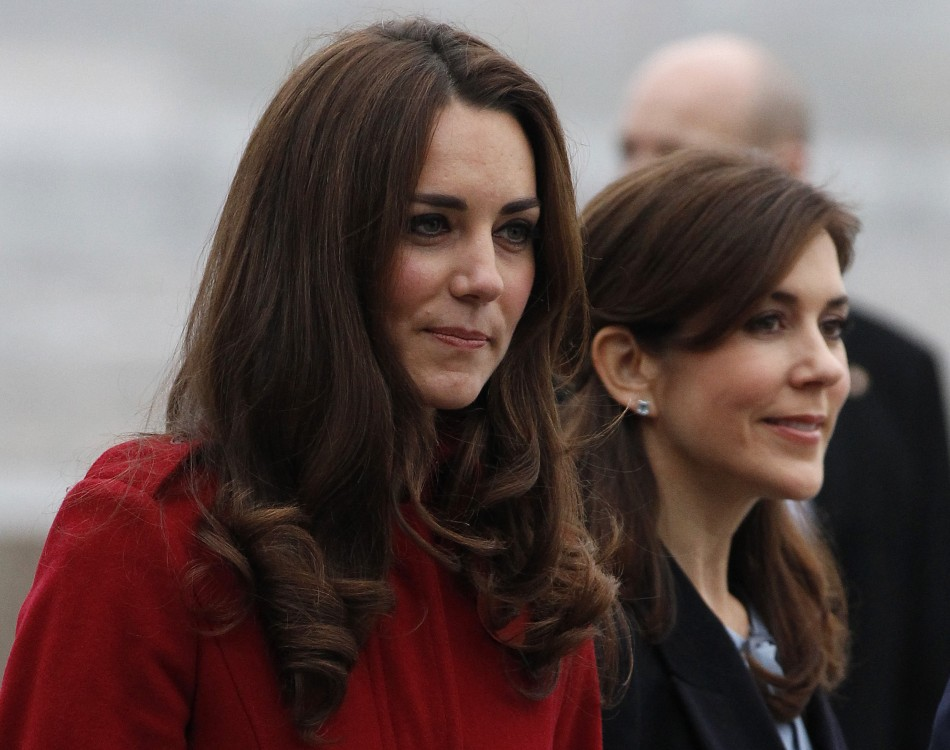 Kate Middleton Donning the Radiant Red: The Most Stunning Color for Her Skintone