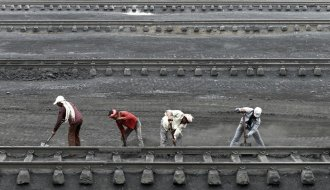 Coal accounts for more than 60 percent of India's energy need.
