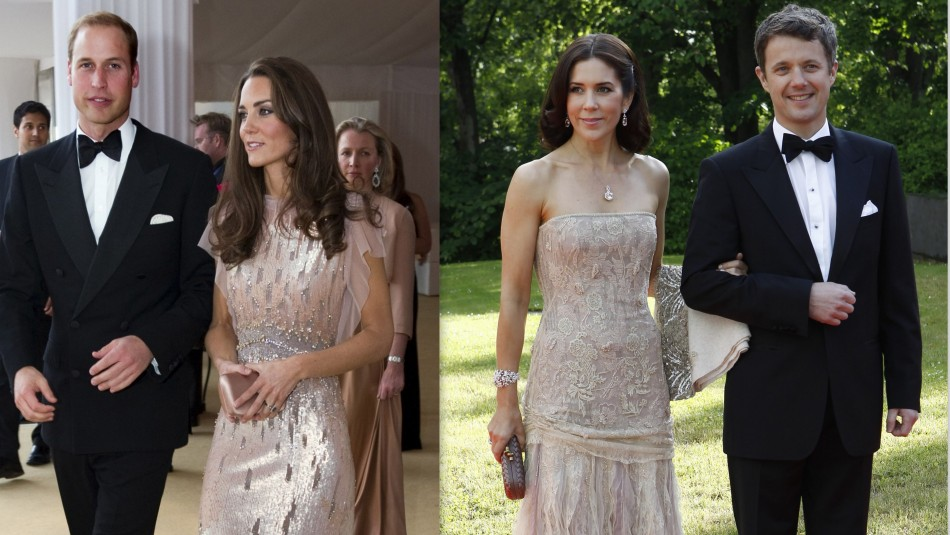 Kate Middleton and Princess Mary: The Uncanny Royal Resemblance