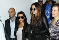 Kim Kardashian Arrives in Australia for First Public Appearance