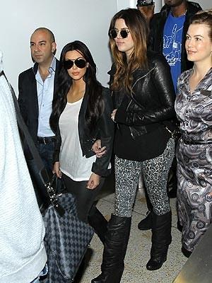 Kim Kardashian Arrives in Australia for First Public Appearance