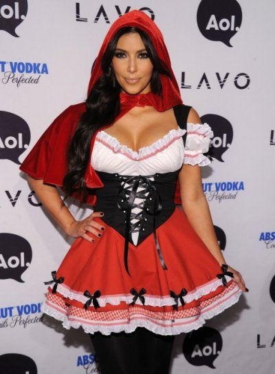 Kim Kardashian Halloween Pictures Through the Years