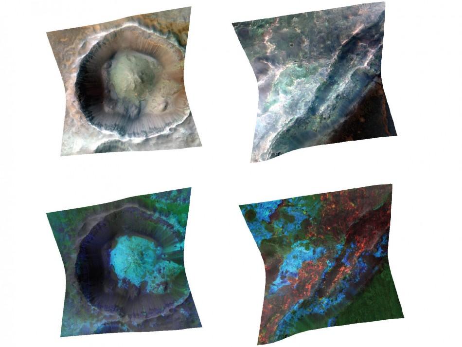 Study of Clays Indicates Watery Mars Underground: NASA