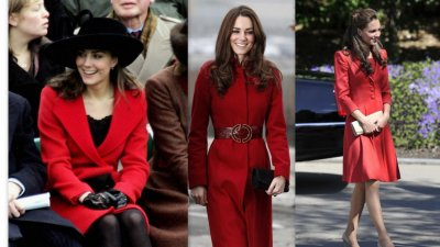 Kate Middleton Donning the Radiant Red The Most Stunning Color for Her Skintone