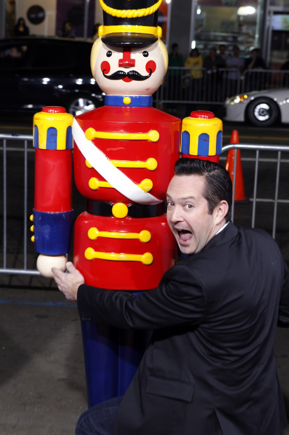 Actor Tom Lennon poses at the premiere of his film quotA Very Harold  Kumar 3D Christmasquot in Hollywood
