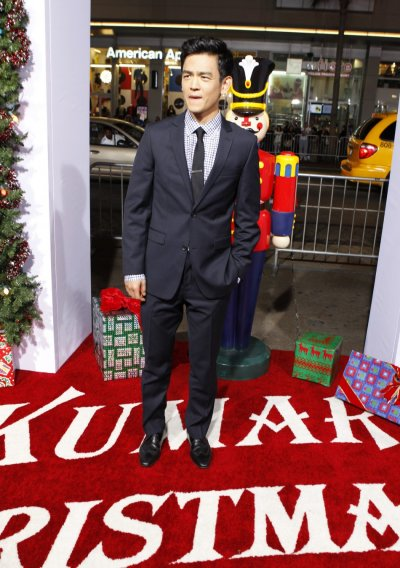 Actor John Cho poses at the premiere of his new film quotA Very Harold  Kumar 3D Christmasquot in Hollywood November 2, 2011.
