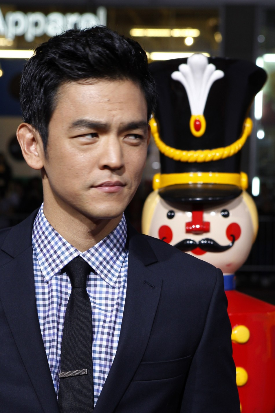 Actor John Cho poses at the premiere of his new film quotA Very Harold  Kumar 3D Christmasquot in Hollywood November 2, 2011