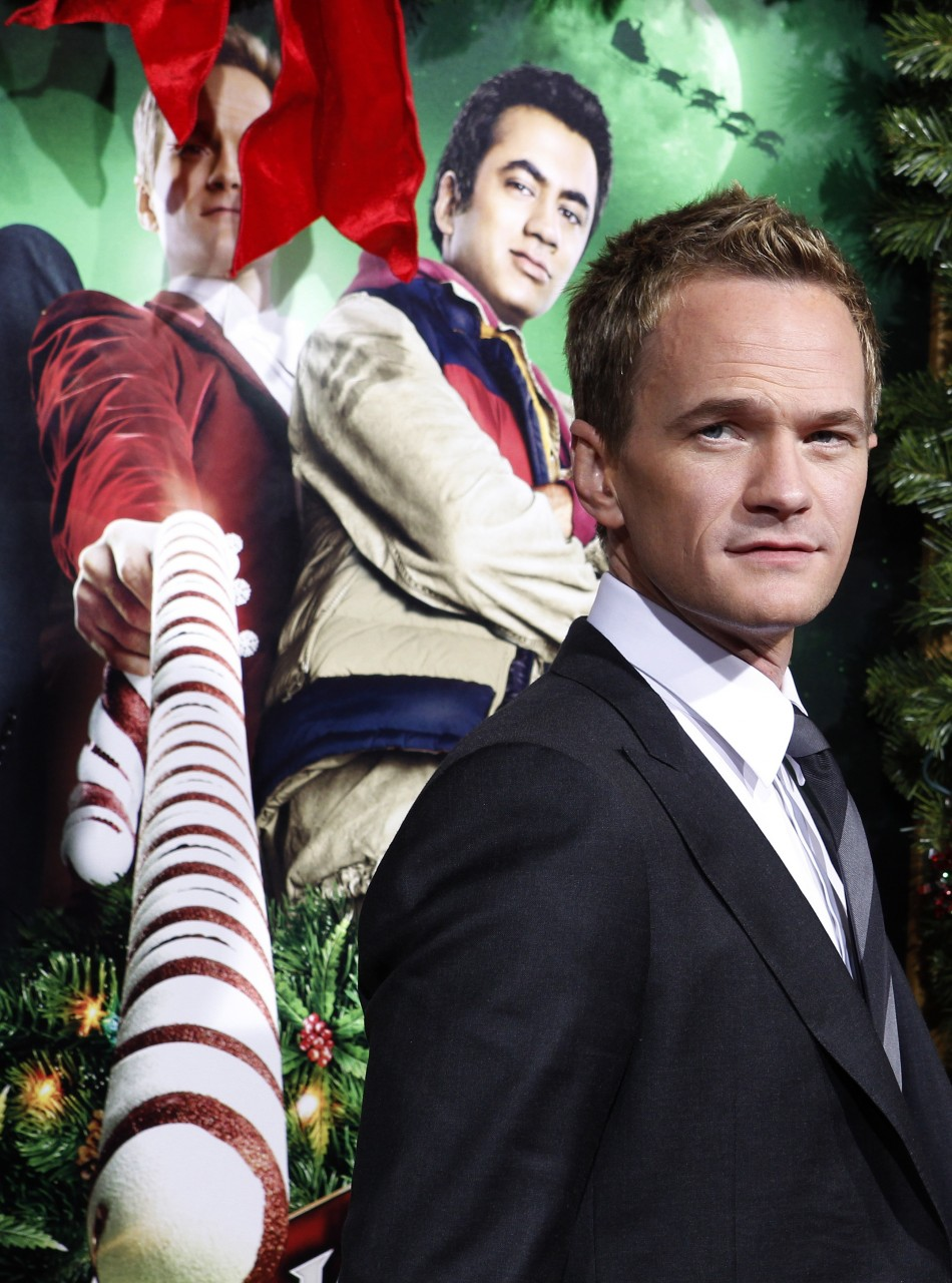 Actor Neil Patrick Harris poses at the premiere of his new film quotA Very Harold  Kumar 3D Christmasquot in Hollywood