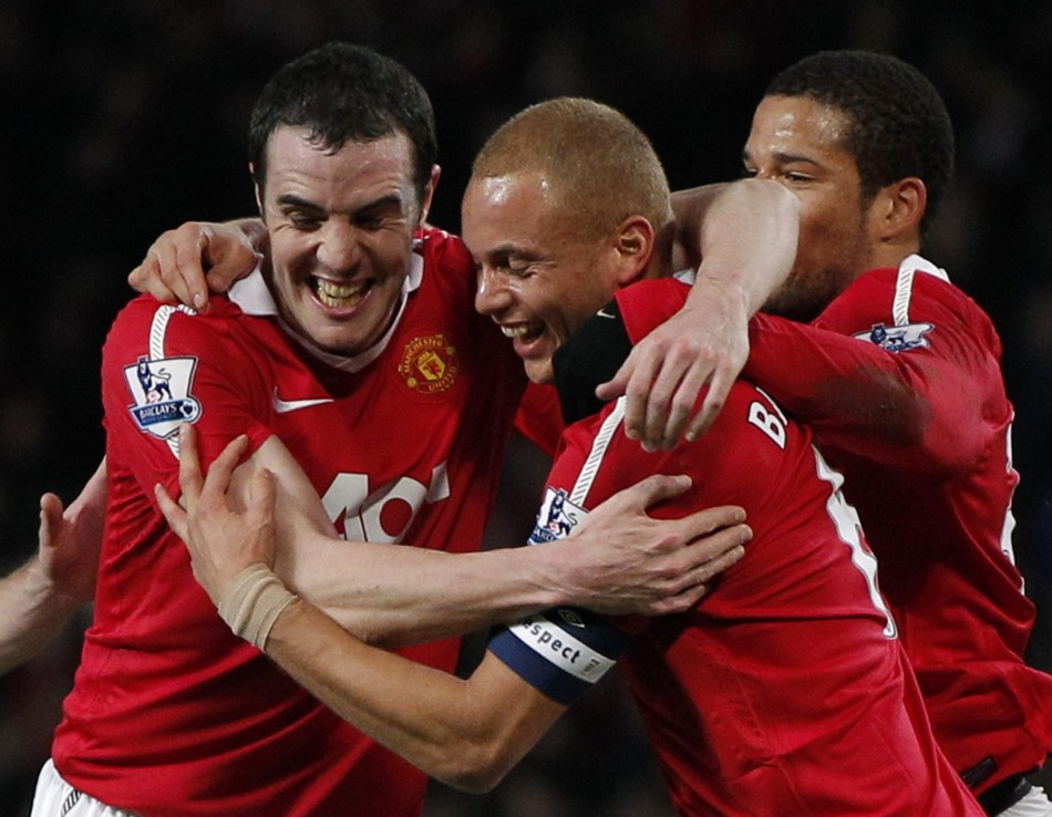 Wes Brown will make his first appearance against his former club Manchester United on Saturday.