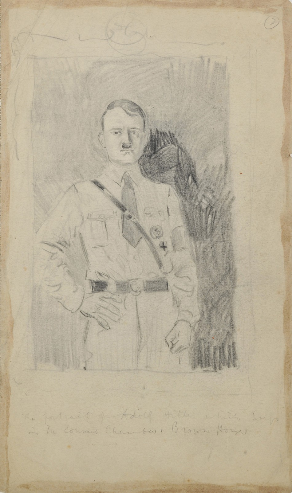 Drawings of Hitler and his henchmen sketched in the early days of the Nazi party by British artist Helen McKie have emerged.