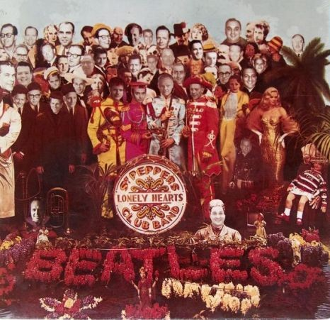 Sir Peter Blake's original artwork was doctored to include the faces of Capitol executives