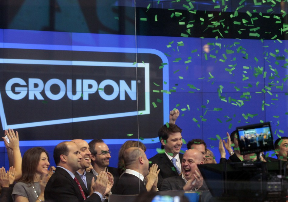 Groupon at Nasdaq
