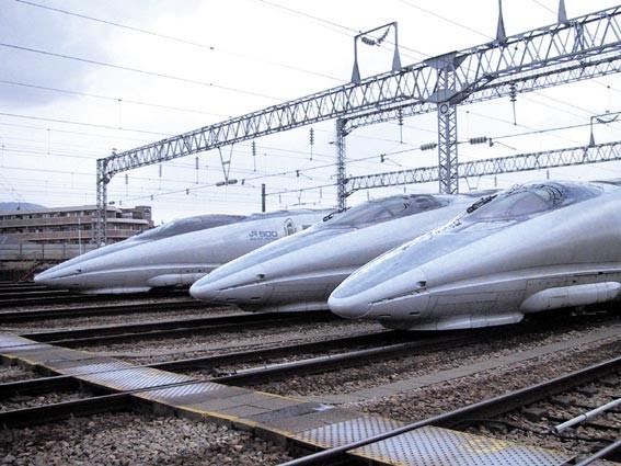 Japan high-speed railroad