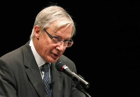 Bank of France Governor Christian Noyer