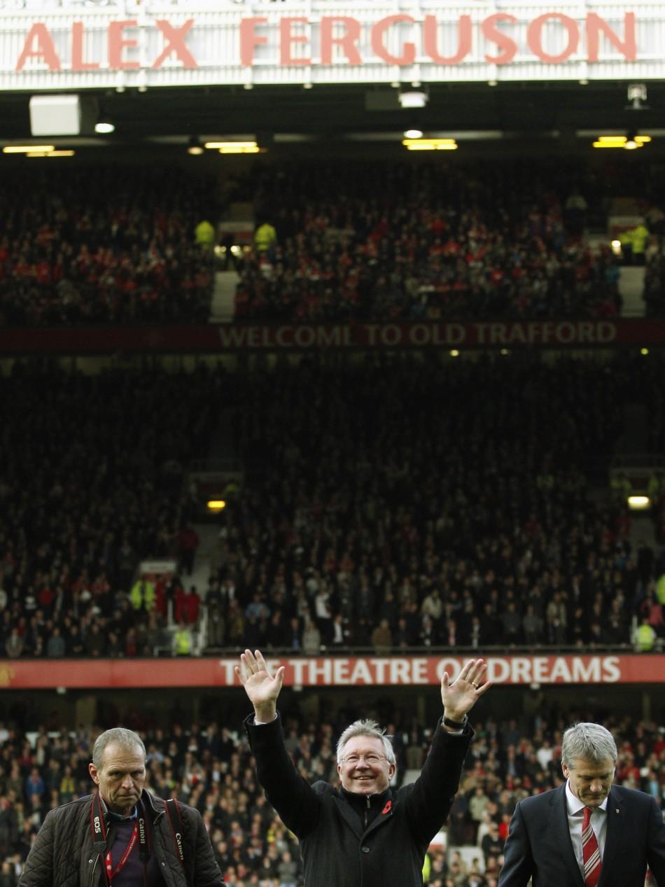 Sir Alex Ferguson Stand