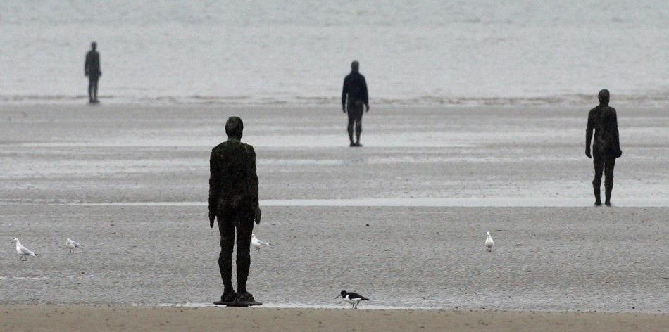 "June 1 - Anthony Gormley's""Another Place"", Crosby Beach"