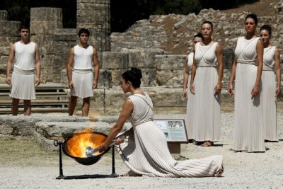 Origins of the Olympic Flame