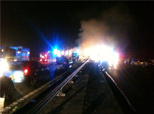 Names of some of the victims of the crash on the M5 near Taunton are starting to emerge.