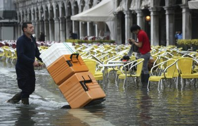 France and Italy Floods