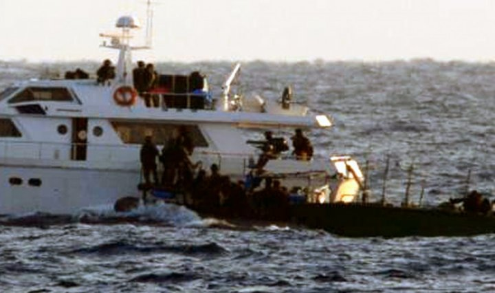IDF boards Gaza flotilla