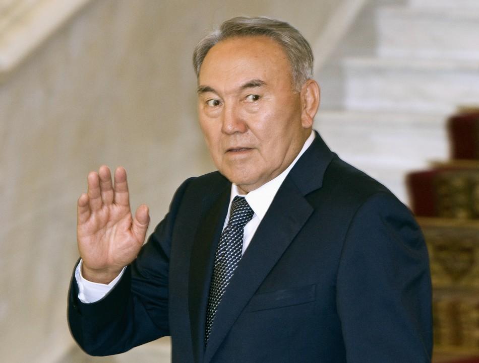 Kazakhstan Pres. Nazarbayev